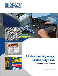 BBP33 Printer Brochure